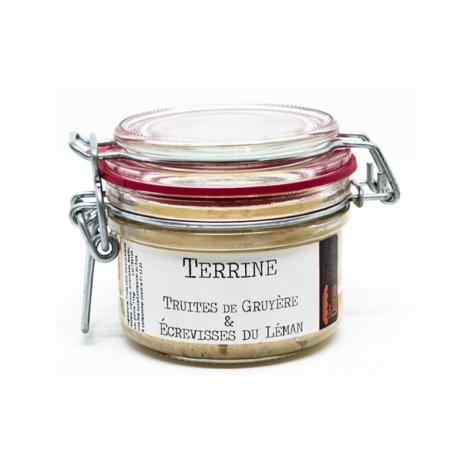 Terrine Truites & Ecrevisses du Léman