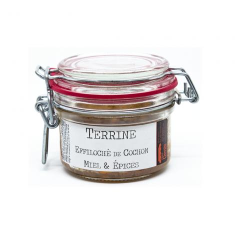 Terrine Effiloché de Cochon, Miel & Épices